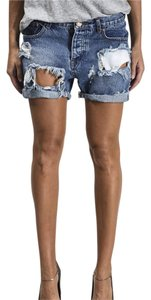 One Teaspoon Cuffed Shorts
