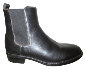 L.L.Bean Leather Ankle black Boots