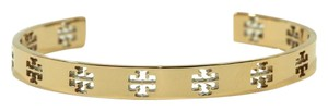 Tory Burch NWT TORY BURCH Logo Bangle Bracelet, Rose Gold