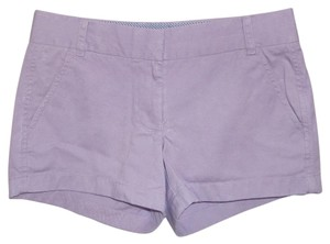 J.Crew Mini/Short Shorts Purple, Lavender