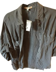Foreign Exchange Button Down Shirt Ink Blue