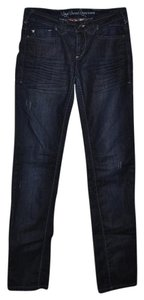DEPT Capricorn Simply Slim Fit Casual Distressed Date Night Skinny Jeans-Dark Rinse