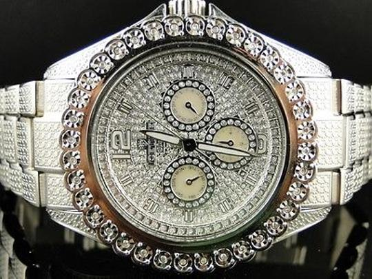 IceTime Icetime Bling Jojojoe Rodeo Diamond White 1 Row Diamonds Band Watch