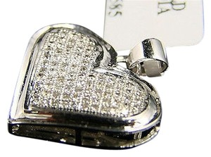 Other Ladies,White,Gold,Finish,.45,Ctw,Diamond,Heart,Pendant,Charm