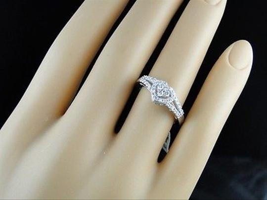 Other Womens,Ladies,White,Gold,Diamond,Wedding,Promise,Love,Heart,Ring,.40,Ct