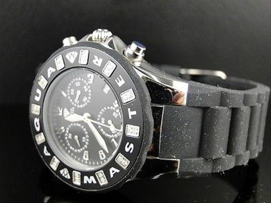 Other Ladies Aqua Master Jojo Joe Rodeo Jelly Black Diamond Watch 38mm .24 Ct