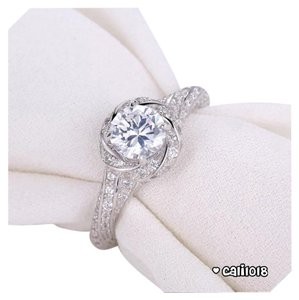 New 91 Top Quality CZ Stones and 925 Silver Ring