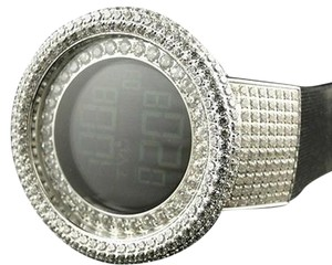 Other Mens 52mm Techno Com Kc Joe Rodeo Simulated Clear Diamond Watch Ct