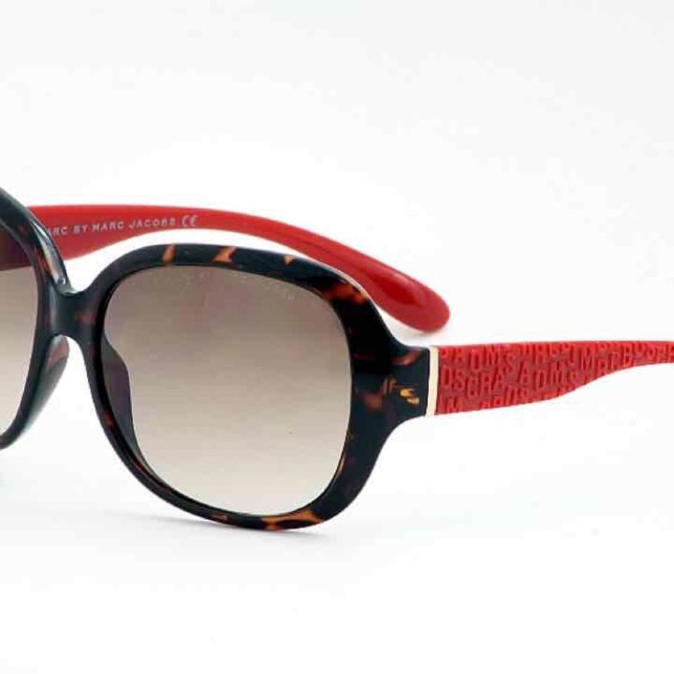 8dc449d936fb Marc by Marc Jacobs Tortoise/Red Mmj 240/S Sunglasses - Tradesy