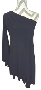Alex and Ava One Long Sleeve High Low Dress