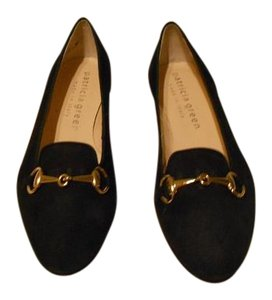 Patricia Green Stylish Made In Italy Navy Flats