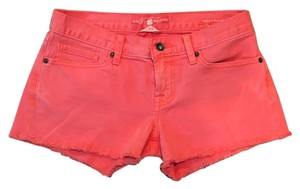 Lucky Brand Cut Off Shorts Orange