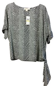 Michael Kors Top Navy/White stripe