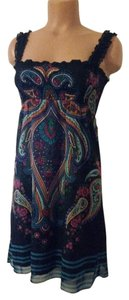 Buffalo David Bitton short dress Multi color Summe Black on Tradesy