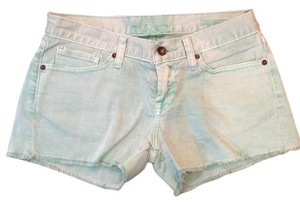Lucky Brand Cut Off Shorts Mint Green