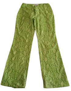 Vertigo Paris Boot Cut Pants Green