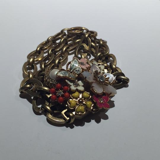 Juicy Couture Floral Chain Link Bracelet Image 3