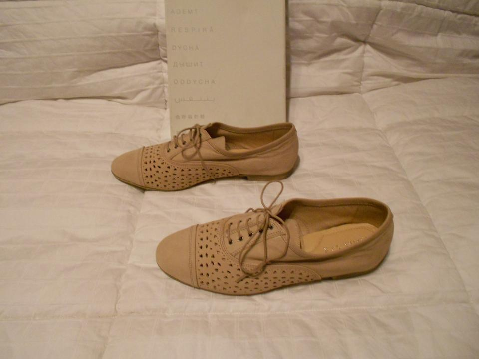 Geox light taupe respira lace up nubuck oxfords flats on - Lit confortable design ...