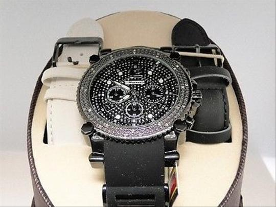 Other Mens Jojinojoe Rodeo Aqua Master Diamond Rubber Band Watch Mj-1131a