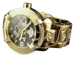 Other Aqua Master Jojo Joe Rodeo Techno Yellow Diamond Watch