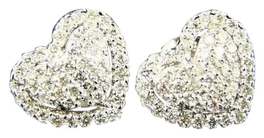 Other Ladies,Heart,11,Mm,Vs,Pave,Diamond,Stud,Earrings,1.0,Ct