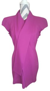 BB Dakota short dress Purple Faux Silk Scarf on Tradesy