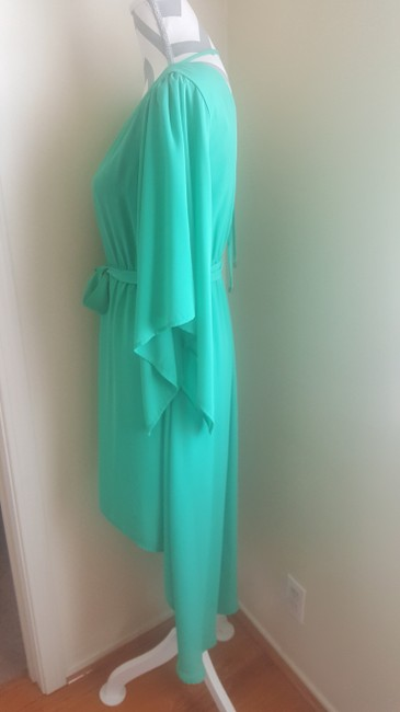 Other short dress Green Gold Summer High Low Flowy on Tradesy Image 1