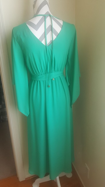 Other short dress Green Gold Summer High Low Flowy on Tradesy Image 2