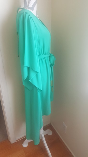 Other short dress Green Gold Summer High Low Flowy on Tradesy Image 3