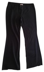 Papaya Wide Leg Pants Black