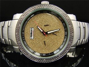 Jojojojinojoe Rodeo Crushed Gold Diamond Watch J-236