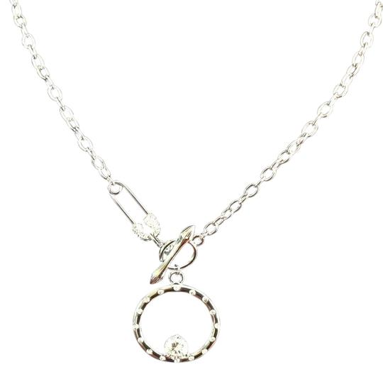 Preload https://img-static.tradesy.com/item/18830656/cubic-zirconia-round-cz-pendant-with-safety-pin-clasp-sale-necklace-0-1-540-540.jpg