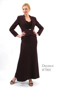 Daymor Couture Champagne 7001 Dress