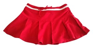 Charlotte Russe Mini Skirt Red