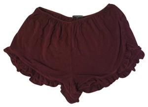 Brandy Melville Mini/Short Shorts Maroon