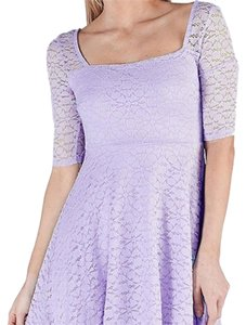 MaiTai short dress Lavender/purple on Tradesy