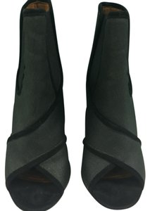 Givenchy Green and Black Boots