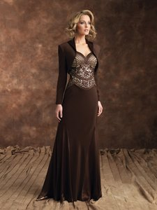 Montage By Mon Cheri Cocoa/Nude 28903 Dress