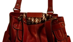 Tignanello Satchel in Merlot