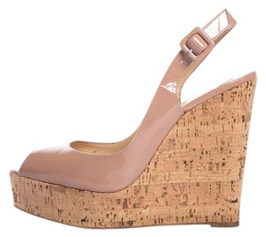 Christian Louboutin Blush Wedges
