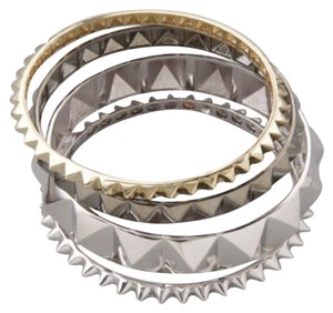 nOir Noir Jewelry Pyramid Bangle Set