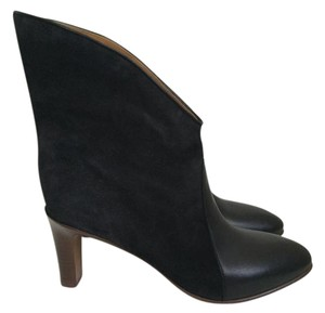 Chloé Chloe Suede Leather Charcoal Boots