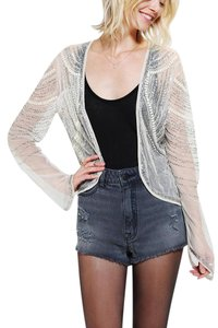Urban Outfitters Rhinestone Beaded Cardigan