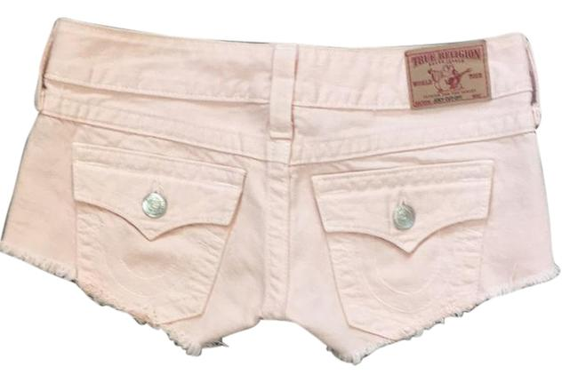 Item - Peach Denim Joey Shorts Size 2 (XS, 26)