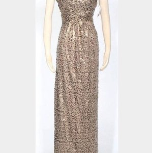 Night Way Collections Gold Dress