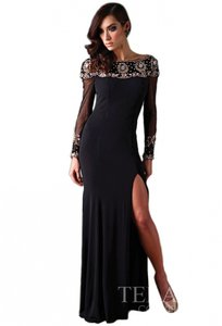 Terani Couture Black J1394 Dress