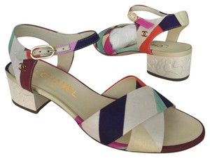 Chanel Multi-Color Sandals
