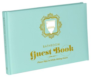 Other Funny Bathroom Guest Book