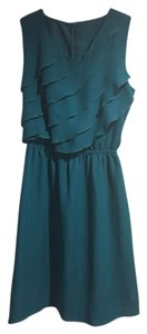 Anthropologie short dress Teal on Tradesy