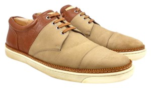 Louis Vuitton Nubuck Leather Tan Athletic